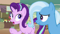 Starlight realizing she's getting mad S8E19