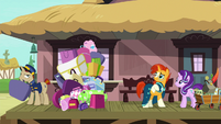 Sunburst's large collection of luggage S7E24