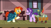 "Sunburst ""you know I like antiquing"" S7E24"