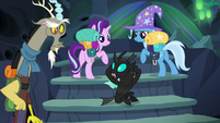 Thorax --there's no way past the guards-- S6E26