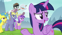 "Twilight ""there wouldn't be any friendship lessons"" S7E14"