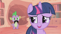 Twilight accepts her magical talents S1E06