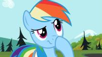 203px-Rainbow Dash hmmm S2E7-W7