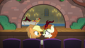 AJ and Autumn Blaze watching the musical S8E23.png