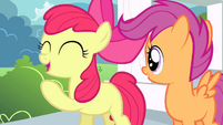 "Apple Bloom ""rootin-tootin"" excited S4E05"