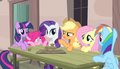 "Applejack ""what the hay is goin' on round here"" S5E1.png"