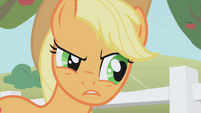Applejack serious face S01E03