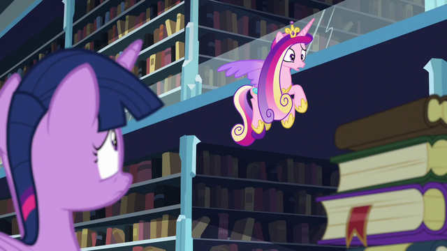 """File:Cadance """"I thought you were taking care of the baby!"""" S6E2.png"""