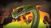"Chimera's snake head ""three!"" S4E17"