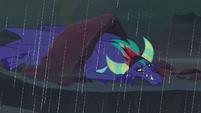 Former Dragon Lord stuck in the rain S8E16