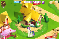 Gameloft Bonbon and her house