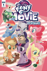 MLP The Movie Prequel issue 1 cover RI