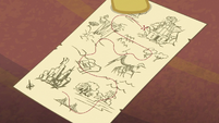 Map leading from Manehattan to Chicomoztoc S6E13