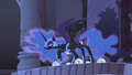 Nightmare Moon accepts Twilight's challenge S1E02.png