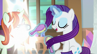 Photographer taking Rarity's picture S8E13