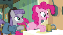 Pinkie Pie 'That's the best apple cider I've ever had!' S4E18