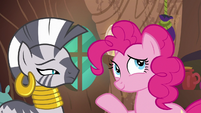 Pinkie Pie fails to take Zecora's hint S7E19