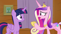 "Princess Cadance ""I don't think I could entertain"" S7E22"