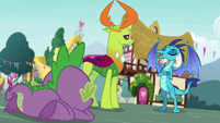 "Princess Ember ""I really do feel better"" S7E15"