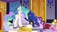"Princess Luna ""I am half-asleep"" S7E10"