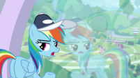 "Rainbow Dash ""if you say so"" S9E15"