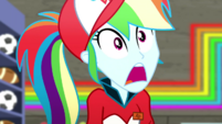 Rainbow Dash screaming with shock SS14