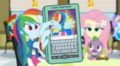 Rainbow Dash showing Twilight her transformation EG2.png