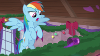 Rainbow discovers the goo powder canister S8E16
