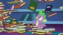 Spike -I just finished organizing those!- S8E24