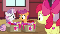 "Sweetie ""everypony's got somepony special but us"" S8E10"