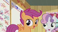 Sweetie and Scootaloo sings -..way...- S5E18