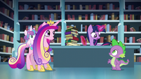 "Twilight ""You better go with her, Spike"" S6E2"