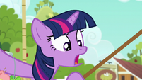 Twilight --Applejack doesn't fly!-- S6E10