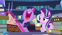 Twilight Sparkle -do the banishing spell herself!- S7E26