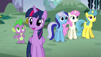 Twilight gasps happily S5E12