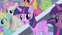 Twilight looking for Spike S4E24