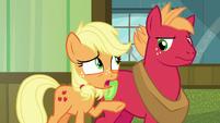 Young Applejack --Big Mac can't come!-- S6E23