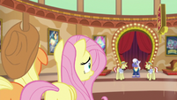 AJ and Fluttershy watch Flim and Flam argue S6E20