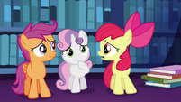 Apple Bloom --what the apples are we ever gonna tell her--- S6E19