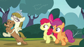 Apple Bloom and Scootaloo follow Zipporwhill and Ripley S7E6.png