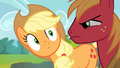 Big McIntosh looks at Applejack angrily S4E09.png