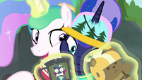 Celestia wants to go zip-lining again S9E13