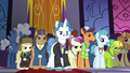 Delegates assembled in the summit hall S5E10.png