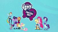Equestria Girls Digital Series logo and group shot