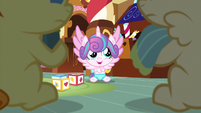 Flurry Heart proud of her solution S7E3