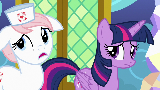 """File:Nurse Redheart """"on school picture day, too"""" S7E3.png"""