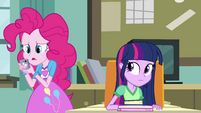 "Pinkie Pie ""never sent you any e-mails"" EG"