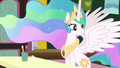 Princess Celestia observing her class of fillies S7E1.png