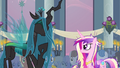 Queen Chrysalis giggling S2E26.png