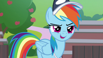 """Rainbow """"I expect the same from you"""" S9E15"""